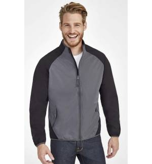 SOL'S ROLLINGS MEN Men's ultra light bi-colour softshell jacket