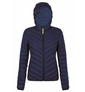 SOL'S RAY WOMEN 01621 Women's light hooded down-padded jacket