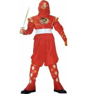 Carnival Halloween Costume kids Power Force 10-14 years Old MARK
