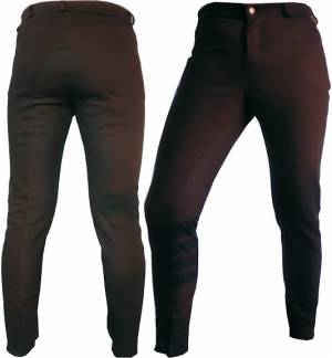 Brown Dressage & Horse Riding Pants Full Seat Breeches