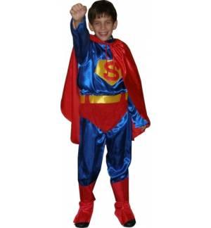 Αποκριάτικη Καρναβαλική Στολή Super ήρωας 2-14 ετών MARK518
