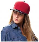 Atlantis Bank καπέλο Εξάφυλλο καπέλο τζόκεϊ 100% Πολυέστερ μικροφίμπρα Τετραγωνισμένο φλατ γείσο 0190519