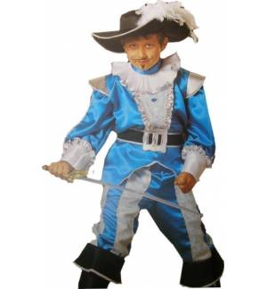 Carnival Halloween Costume kids KNIGHT 10-12 years Old MARK525