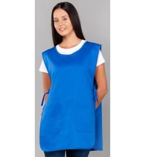Super Market Apron With 2 Pockets One Size 5 Colors 100% Cotton