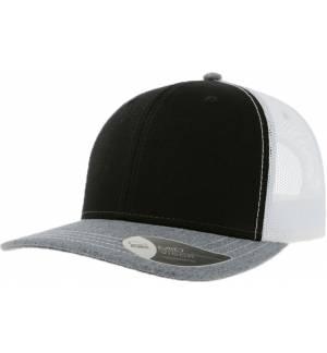 Atlantis Sonic Εξάφυλλο καπέλο chino τζόκεϋ 100% Cotton Twill 280gsm