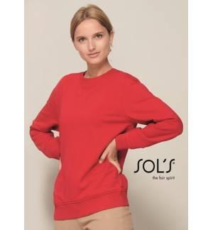 Sol's Sully - 02990 MEN'S ROUND-NECK SWEATSHIRT LSF FLEECE 280 80% ringspun cotton - 20% polyester
