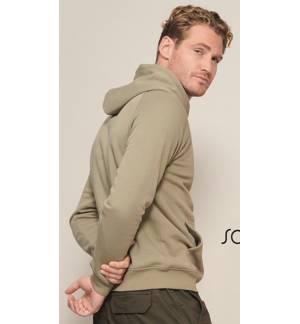 Sol's Snake 47101 Unisex hooded sweatshirt Fleece 280 gr. - 50% Cotton Ringspun - 50% Polyester
