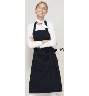 Sol's Gala 88010 LONG APRON WITH POCKETS Easy Care in many Colours