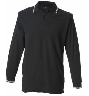 JRC New Marsiglia Men's long-sleeves polo shirt Pique 210gsm - 100% combed cotton