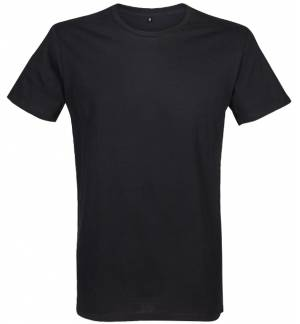 Sol's Mustang 00582 MEN'S T-SHIRT WITH CONTRASTED FLATLOCKS 100% cotton 5 Colours