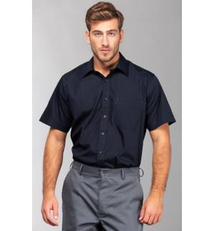 SSL Oporto Ανδρικό κοντομάνικο πουκάμισο Ποπλίνα 65% Πολυέστερ - 35% Βαμβάκι 120gsm