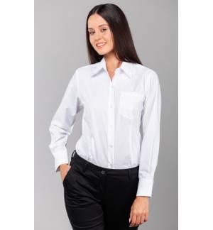 LSL Star Γυναικείο μακρυμάνικο πουκάμισο Ποπλίνα, 65% Πολυέστερ - 35% Βαμβάκι, 120gsm