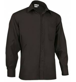 LSL Oporto Men's long-sleeve shirt Popline 65% Polyester 35% Cotton 120gsm