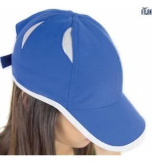 Atlantis Gym Εξάφυλλο αθλητικό καπέλο τζόκεϊ 100% Πολυέστερ 90gsm
