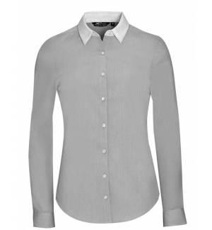 BELMONT 01431 Γυναικείο μακρυμάνικο πουκάμισο end-to-end
