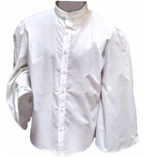 GREEK TRADITIONAL CHILDREN'S COTTON SHIRT WITH WIDE SLEEVE MARK876