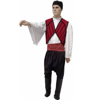 Greek Traditional Costume MANIATIS Wollen 6-12 MARK925
