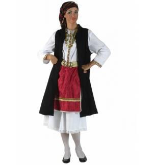 Παραδοσιακή Στολή Ηπειρώτισσα με σεγκούνι Παιδική 6-12 ΕτώνMARK5