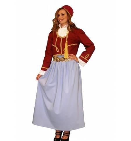 Greek Traditional Costume Amalia Teenage & Women MARK573