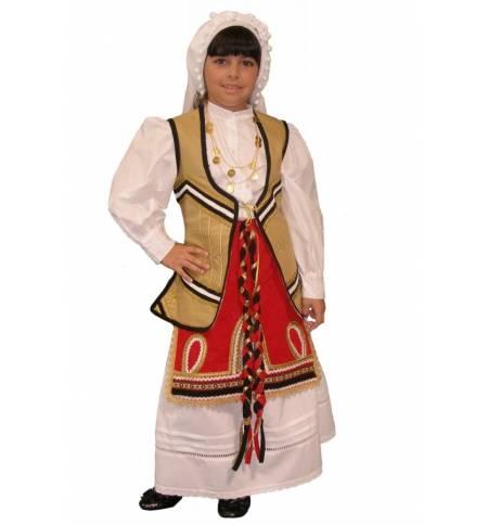Παραδοσιακή Στολή Ρούμελη ΡΟΥΜΕΛΗ Παιδικά μεγέθη ΕλληνικήMARK625