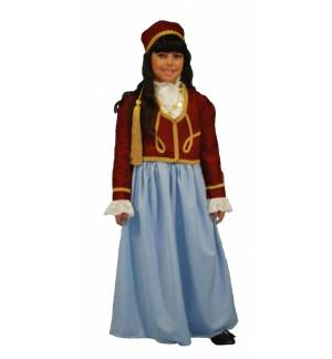 Greek Traditional Costume Amalia 8-16 Years old MARK555