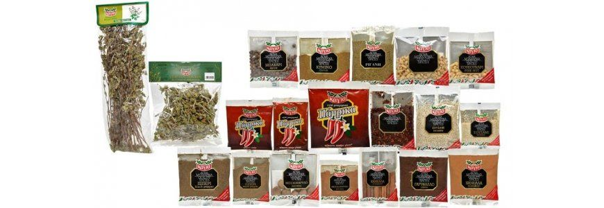 HERBS & SPICES IN BAGS